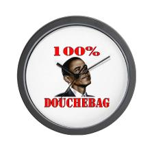 obama_100_douchebag_wall_clock