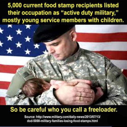 Military Families Food Stamps